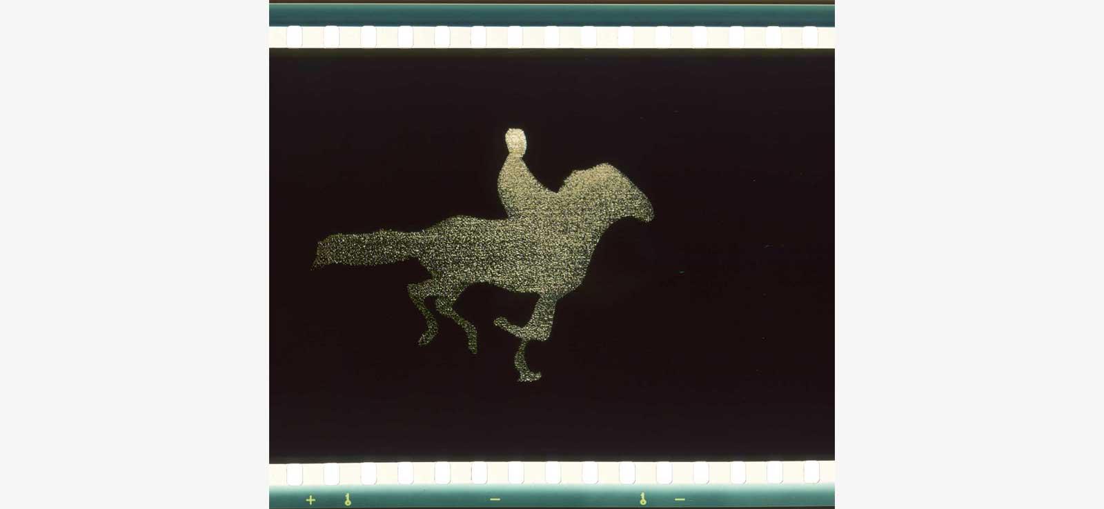 Antoni Pinent Qr Code film frame by frame animation